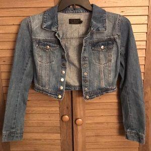 Half Length Jean Jacket